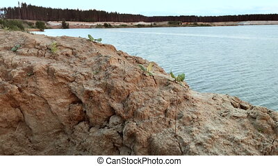 Sandy Beach beautiful Lake - Sandy Beach beautiful Blue Lake