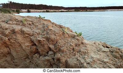 Sandy Beach beautiful Lake - Sandy Beach beautiful Blue Lake