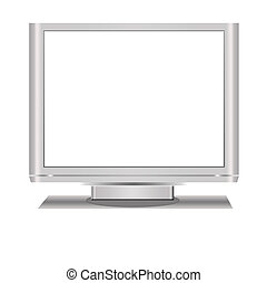 Blank Lcd Television
