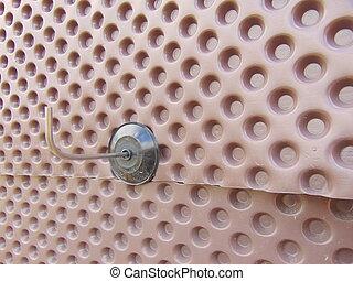 platon, construcción, Membrana,  waterproofing, plástico