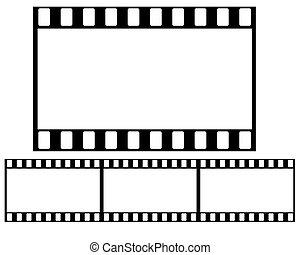 35mm Film roll illustration high resolution digital