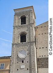 St Giuliano Belltower Cathedral Macerata Marche
