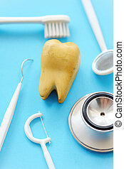 Dental concept background