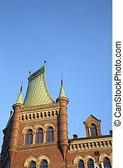 Norstedt Building (1882); Riddarholmen; Island; Stockholm;...
