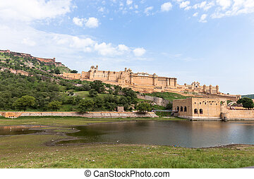 Amber fortress, Rajasthan - amber fort, near Jaipur in...