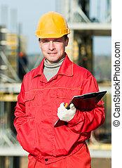 builder inspector worker