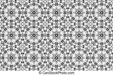 White luxury circle pattern background and abstract modern seamless