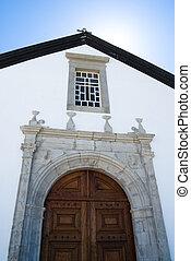 Catolic church in Cacela Velha , Potugal