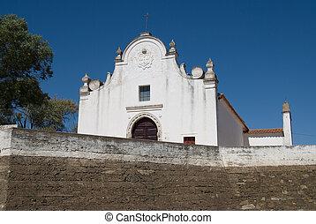 Catolic church in Alcotim, Potugal