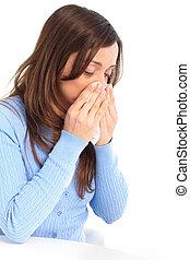 Flu, allergy