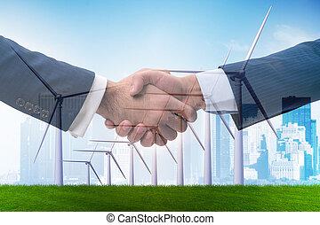 clima, concetto, accordo, cambiamento