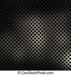 Perforated metal texture