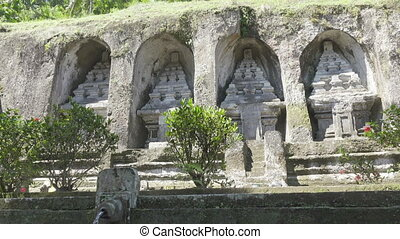 Gunung Kawi is an 11th-century temple and funerary complex in Tampaksiring north east of Ubud in Bali, Indonesia