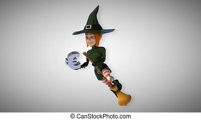 Fun witch - 3D Animation - Sexy witch - 3D Animation