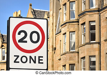 20Mph Residential Zone