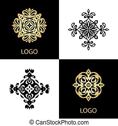 Luxury Logo template ornamental business sign - Luxury Logo...