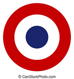 French tricolore symbol