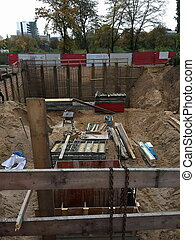 construction of a residential building