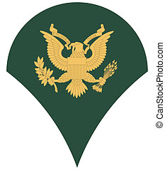 US army specialist insignia - United States of America...