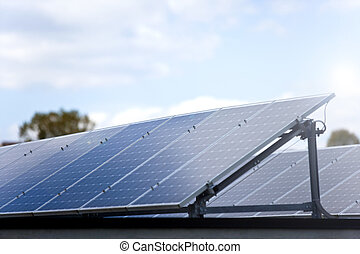 photovoltaic panels - green power