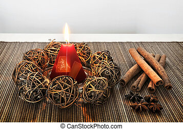 Badian - A Still Life - The Christmas decorations