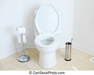 Flush toilet - Modern flush toilet Bathroom