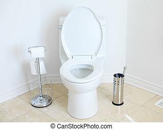 nivele, Banheiro