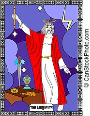magician man card