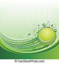 tennis background - vector illustration of tennis sport