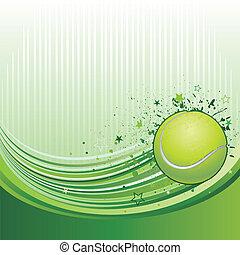 tênis, fundo