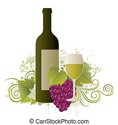 wine design element