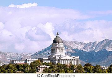Utah State Capitol Building - Image of the Utah State...
