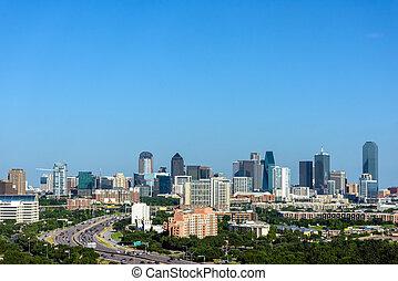 Dallas Texas Skyline and Cityscape