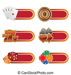 casino design element - vector casino design element