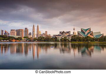 Kuala Lumpur. - Cityscape image of Kuala Lumpur skyline...
