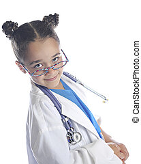I'm Your Friendly Nurse - An elementary girl playing...