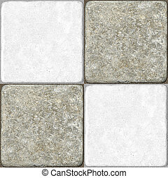 Ceramic Flooring Tiles as Seamless Marble