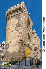 Quart Towers, Valencia, Spain - Quart Towers is part of the...