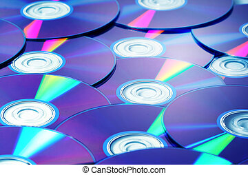 cd background macro close up