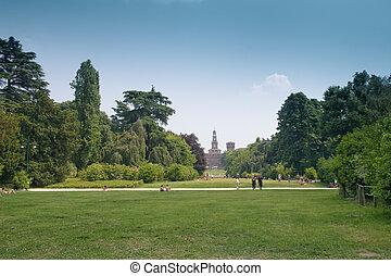 Park of Milan
