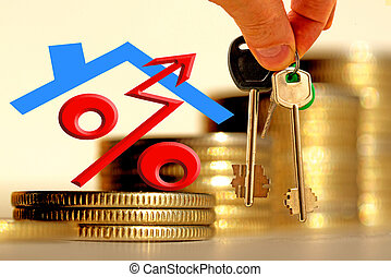 The character of the property and the keys on the background...