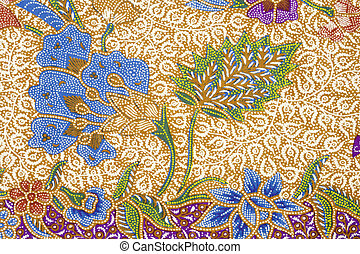 Batik design - Detail of a batik design from Indonesia