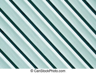 Cyan color pvc siding wall. Abstract background and texture...