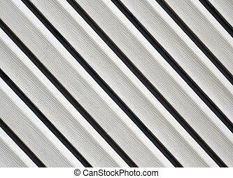 Gray color pvc siding wall. Abstract background and texture...