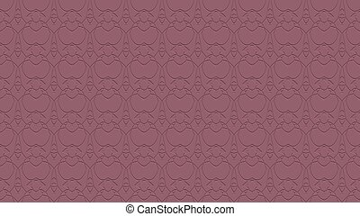 Seamless abstract background in mauve tones with scribbles