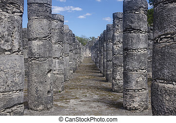 Thousand Columns Temple - Structure at the Archaeological...
