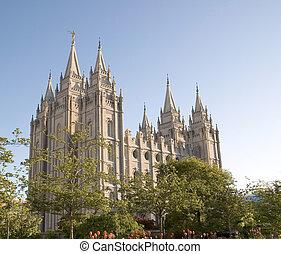Salt Lake Temple - The Salt Lake Temple is located in Salt...