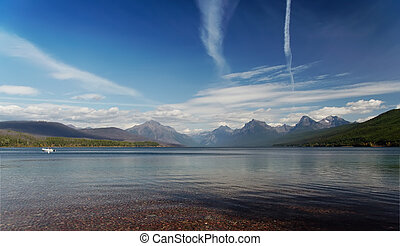 Glacier National Park: Flathead Lake