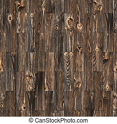 Rustic Parquet Seamless - Background of rustic parquet wood...
