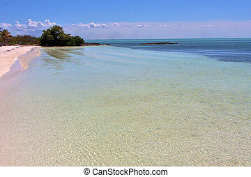 isla contoy sand in froath and day wave - blue isla contoy...